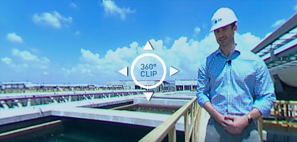 Sorek Desalination Plant 360° Video