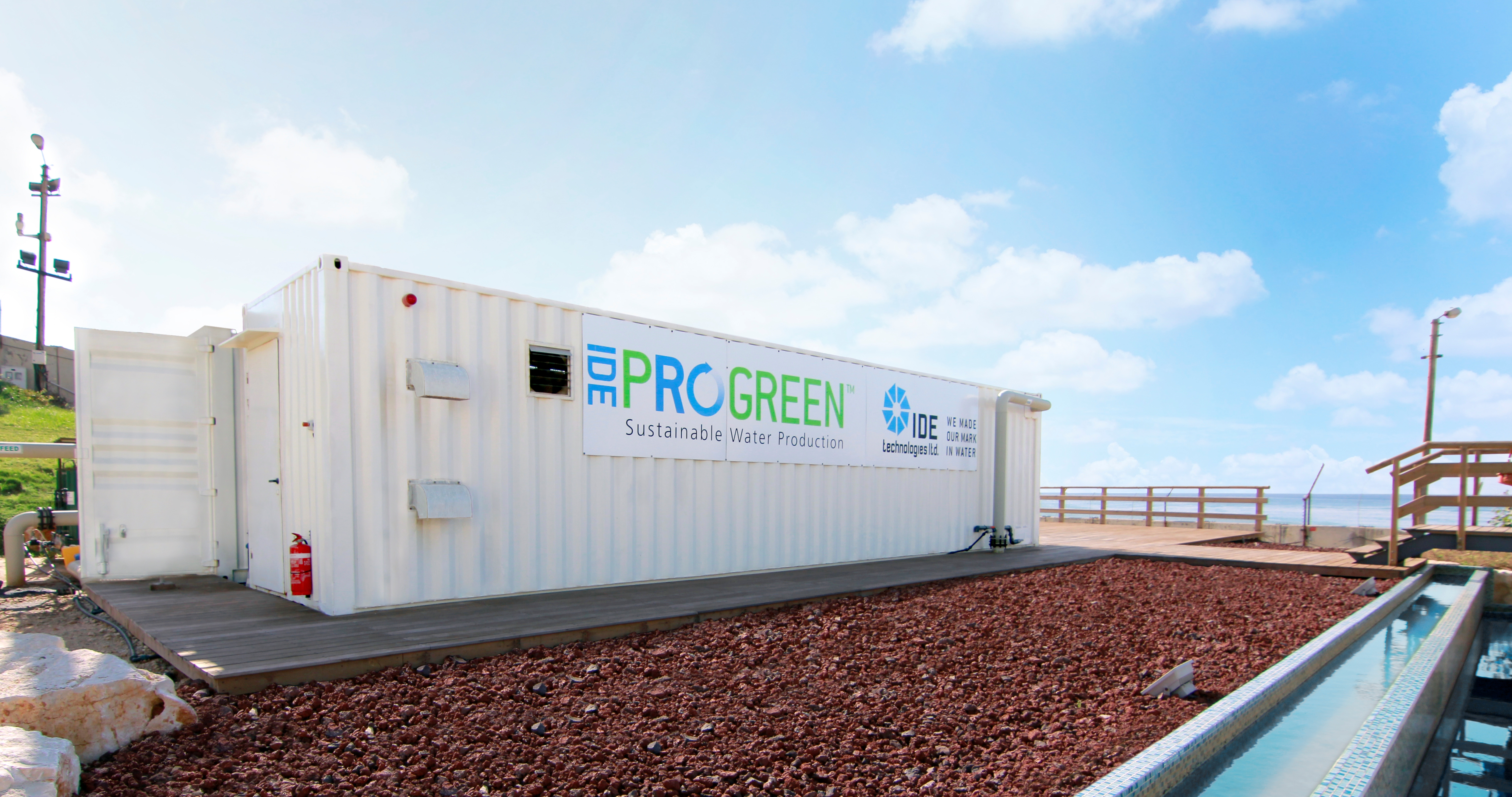 IDE PROGREEN™ – Chemical-Free Desalination Plants
