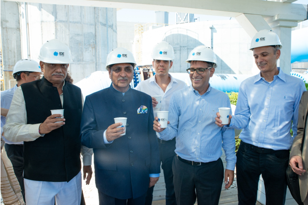 Indian Delegation Meets IDE Technologies Senior Executives at the Sorek Desalination Plant
